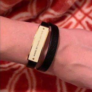 Marc Jacobs leather wrap bracelet